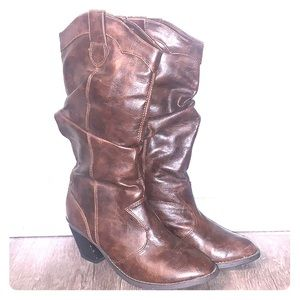 Woman's Dark Brown Boots